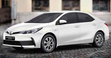 Corolla for Rent in Islamabad